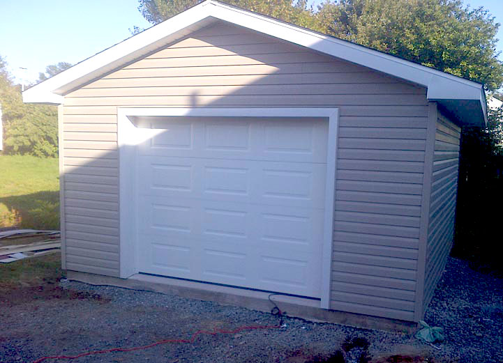16x16 Garage Modushed