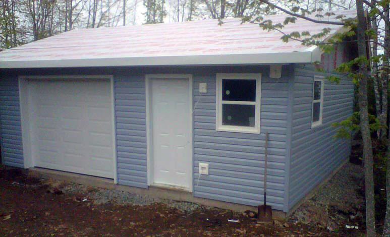 20x24 garage modushed for Diy garage cost