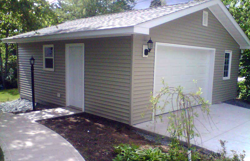 24x24 Custom Garage Modushed